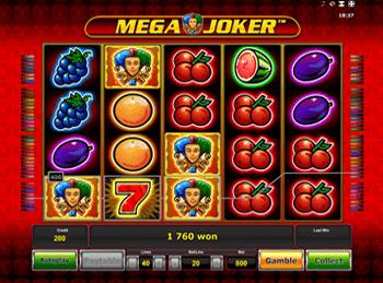 Mega Joker в игровом клубе Вулкан