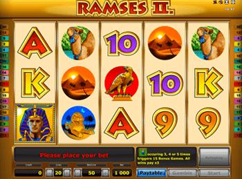 Игровой автомат Ramses II Deluxe