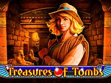 Treasures Of Tombs: играть онлайн в игровой автомат